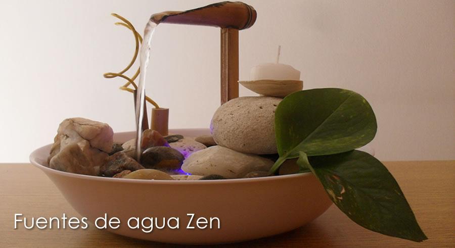 Fuentes de agua zen fuentes cascadas feng shui for Decoracion de interiores feng shui